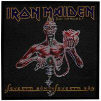 Iron Maiden Seventh Son Patch Heavy Metal Official New