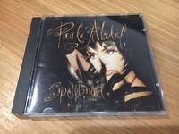 Paula Abdul Spellbound Prince Related U Paisley Park SAMPLE CD