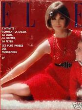 ▬►Elle 991 (1964) Sylvie Vartan_Annie Girardot_Françoise Hardy_Mode Fashion