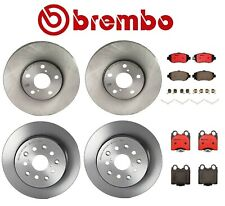 Front Rear Brembo Brake Disc Rotors Ceramic Pads Kit For Lexus GS430 IS300 SC430