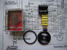 Kit complet pour restauration electrophone,tourne disque Teppaz Oscar