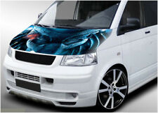 VW Volkswagen Transporter bonnet wrap 114 printed vinyl sticker T4 T5