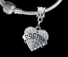 Doctor CHARM  huge sale Medical charm fits European style Bracelet and necklace