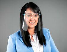 Gesichtsschild, Gesichtsvisier mit Brillengestell, Face Shield