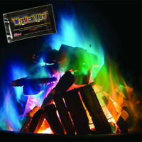 Mystical Magic Trick Fire Coloured Flames Bonfire Fireplace Colorful Toy Games