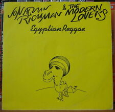 JONATHAN RICHMAN & THE MODERN LOVERS EGYPTIAN REGGAE FRENCH SP