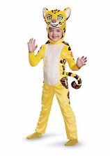 Toddler Kids Lion King Costume Fuli Guard Yellow Tiger Girls Boys Halloween Kids