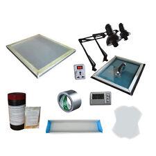 Screen Printing Plate Making Kit Exposure/ Screen Frame/Coater Plate Making Tool