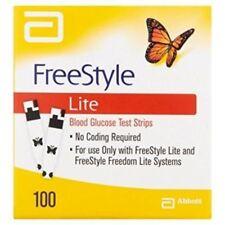 FreeStyle Lite Test strips, 50 X 2 =100 ct     EXP 11 / 2019