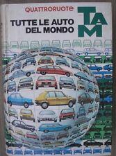 TAM TUTTE LE AUTO DEL MONDO 82/83 1982/1983  QUATTRORUOTE  con aggiornamento