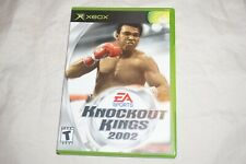 Knockout Kings 2002 (Microsoft Xbox) Complete