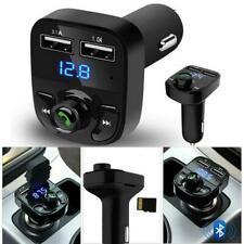 Wireless Bluetooth Handsfree Car Kit FM Transmitter MP3 Player Dual-USB-Charger