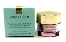 New in Box! ESTEE LAUDER Resilience Multi-Effect Night Cream 1oz /30ml~Full Size