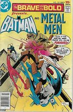 Dc (1977) The Brave And The Bold #135 - July - Batman and Metal Men - 4.5 Vg+