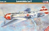 LAVOCHKIN La-7 (SOVIET & CZECHOSLOVAK AF MKGS)#D218  1/72 MISTERCRAFT