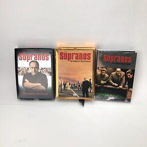 Sopranos Series DVD Seasons 1, 3, 4 Soap Opera