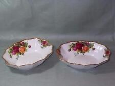 2 Royal Albert Old Country Roses Trinket Dishes Sweets Bon-Bon Etc. 5.75""