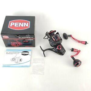 Penn SLAMMER III 6500HS High Speed Spinning Reel Black Red 6.2:1