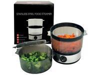 400 Watt Stainless Steel Food Steamer - 4 Quart Capacity