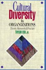 Cultural Diversity in Organizations: Theory, Research & Practice, Cox Jr., Taylo