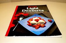 Books, Sunset Light Desserts 175 Fresh Ways to End a Meal Cook Book, Recipes