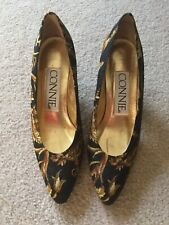 7.5A Vtg 80s New! Connie womens heel shoes Autumn colors