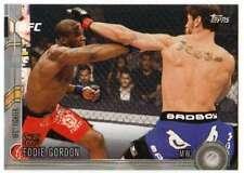 2015 Topps UFC Chronicles Silver Parallel #240 Eddie Gordon