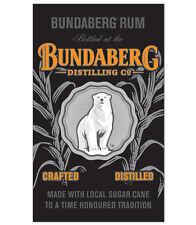 BUNDABERG WALL BANNER - Bar Flag Sign Pool Room Man Cave Den Rum Bundy Gift