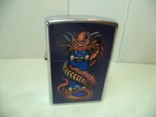 ZIPPO ACCENDINO LIGHTER AMERICAN HARDCORE SKATE- DRAGON VERY RARE NEW