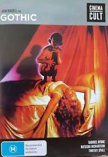 B14 BRAND NEW SEALED Gothic (DVD, 1986) Ken Russell Film