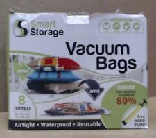 Smart Storage 8 Pack Jumbo Vacuum Space Saver Bag Set