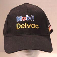 NEW Mobil Delvac NASCAR black logo Hat