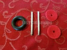 Metal Spool Pin Kit, Bobbin Tire, Red Felt Singer 15,15-90, 27,28,66,99,206,306W
