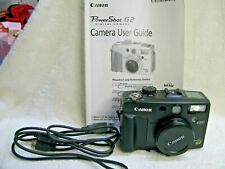 Canon  Power Shot G2  Early  Digital Camera , Near Mint
