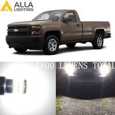 Alla Lighting Back up Light 921 LED Bulbs Reverse Lamp Backup for Chevy Colorado