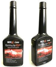 2x MotoX-treme FSP3 Benzinzusatz, Kraftstoffzusatz für Motorräder 250ml Flasche
