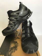 New Men's Salomon XA Pro 3D Trail Shoe Black/Magnet/Quiet Shade Size 11.5D $130