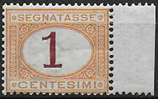 1870 Italia segnatasse 1c. bc MNH Sass n. 3