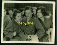 JOAN CRAWFORD VINTAGE 8X10 PHOTO 1930 PAID TOUGH GIRLS IN PRISON SHOWERS