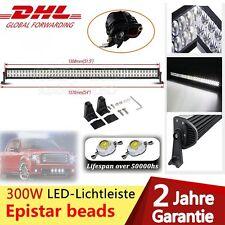 "52"" 300W LED Work Light bar Lichtbalken Arbeitsscheinwerfer Offroad Lampe Combo"