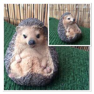 Vivid Arts Cute sitting up Hedgehog**Amazing Detail**Indoor/Outdoor