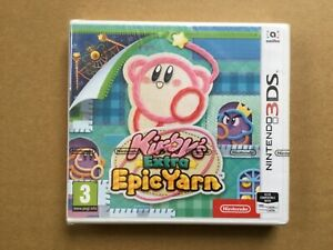 Kirby's Extra Epic Yarn Nintendo 3DS 2DS New