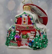 Christopher Radko New 2019 North Pole Tree Farm Gem Christmas Ornament #1019662