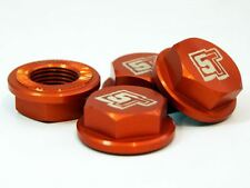 UberRC Enclosed Wheel Nuts 5ive-T - x4 Orange for Losi 5ive-T X2 RC 1/5th Scale