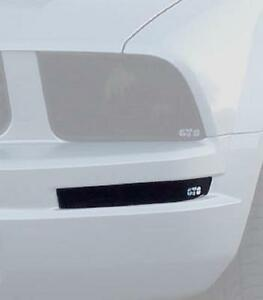 2005 - 2009 Mustang V6 GT Smoke Front Turn Signal Covers 2006 2007 2008
