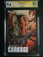Absolute Carnage #5 Kyle Hotz Variant CGC SS 9.6 signed by Cates & Stegman