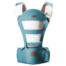 Bebamour Transpirable portador de bebé para Cadera 6 formas de transporte con asiento desmontable (Ligh