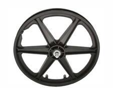 "20"" Front Wheel MAG PLASTIC 6-SPOKE Cruiser Lowrider BMX Bikes New"