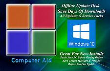 Windows 10 32 & 64 Bit Patch Disk - Incs. All SPs & All Updates DVD 02-11-20