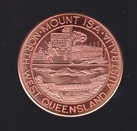 Mount Isa City Tourist Dollar North West Queensland Australia Mining Mine Copper